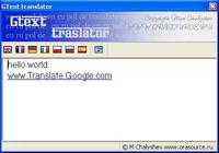 GText translator