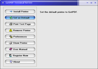 GetPDF Terminal Server