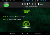 Neon Screen Lock