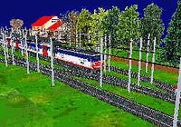 Miniature Train Simulator