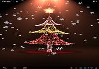 Noël papier peint en direct