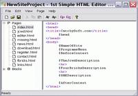 1st Simple HTML Editor
