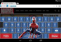 Amazing Spider-Man 2 Keyboard