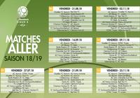 Calendrier Ligue 2 2018 - 2019