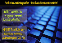 IBillIt .NET Lib for Authorize.Net CIM