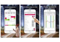 Calendrier d'ovulation et règles Ladytimer iOS