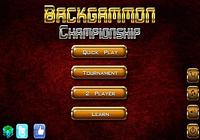 Backgammon Championship