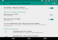 Save Contacts