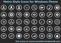 Metro Style Icons for Windows Phone