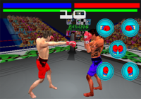 Jeu de Boxe Virtuelle 3D