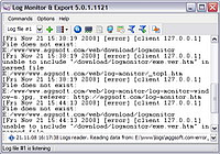 Log Monitor Export