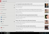Chine Informations Android