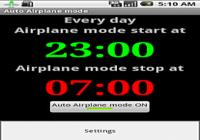 Mode Avion Auto