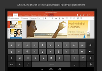 PowerPoint pour tablette