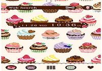 Thèmes gratuits★Cuppycakes