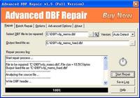 Advanced DBF Repair