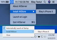 Altserver (Altstore) Mac