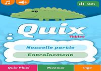 Quix Tables de multiplication
