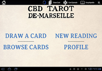 CBD Tarot de Marseille Pro