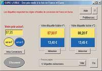 Euro lisible