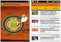 Actualité Roland Garros Android