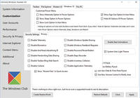 Ultimate Windows Tweaker pour Windows 10