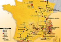 Carte du tour de France 2017
