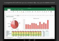 Microsoft Excel pour tablette