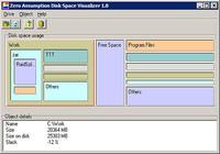 Zero Assumption Disk Space Visualizer