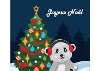 Carte de Noël 2018 au format Word