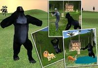 Fou Ape Attaque sauvage 3D