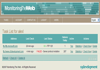 Monitoring The Web