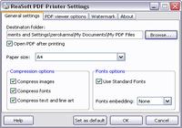 ReaSoft PDF Printer