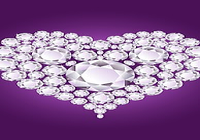 Coeur En Diamant Fond D'écran