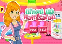 Nettoyage de salon de coiffure