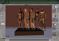 3D Virtual Figure Drawing Studio (Male)