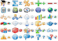 Science Toolbar Icons
