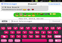 Emoji Keyboard  Red Love Theme