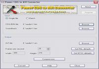 Power CDG to AVI Converter