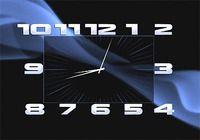 Box Clock Screensaver