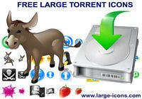 Free Large Torrent Icons