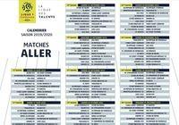 Calendrier Ligue 1 PDF 2019-2020