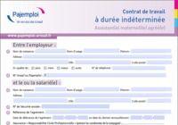 Contrat de travail assistant(e) maternel(le) agréé(e)