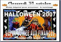 Carte pour soirée halloween microsoft publisher 2007