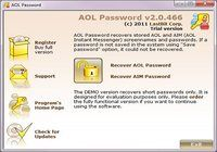 LastBit AOL Password Recovery