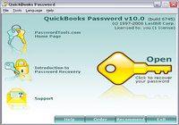 QuickBooks Password