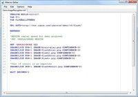 AF Free Website Monitoring Script Editor