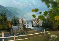 Mountain Waterfall 3D Screensaver