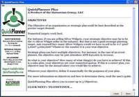 QuickPlanner Plus