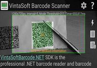 Logiciel gratuit Vintasoft Barcode Scanner